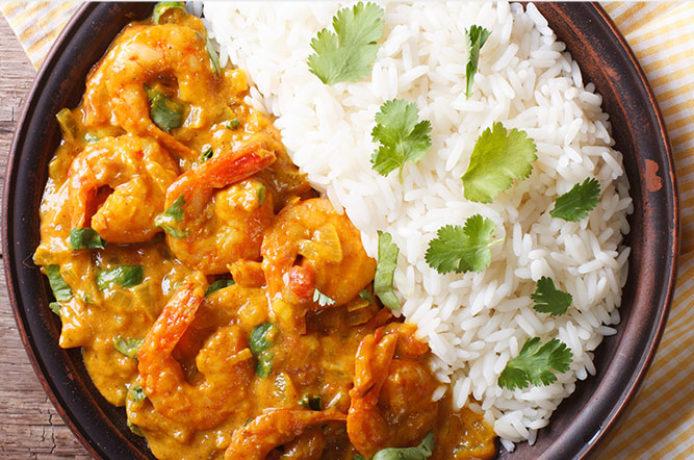 Langostino al Curry Kerala