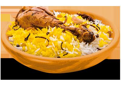 Pollo Dum Biryani